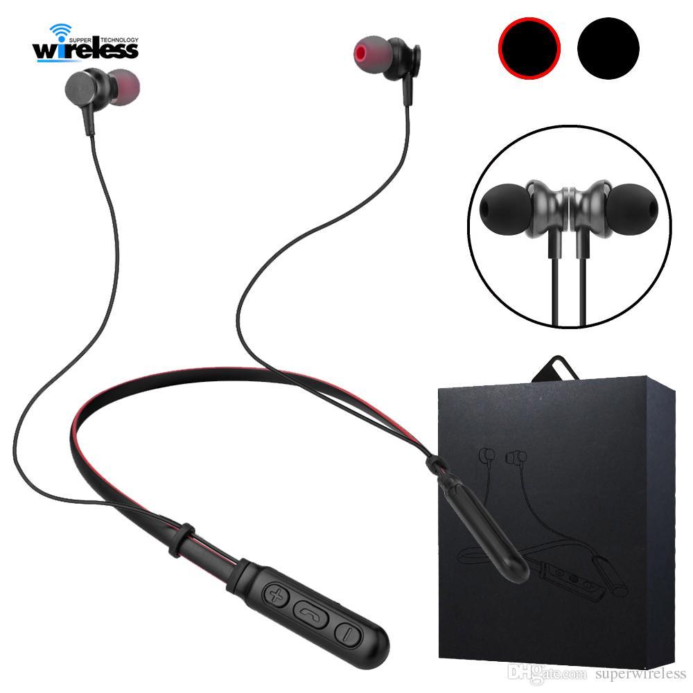 Cuffie Wireless Tv Cuffie Auricolari Bluetooth Senza Fili 10 Ore Music Time  Auricolari Wireless Magnetici Auricolari Stereo Neckbands IPhone Xs Samsung  ... 4450008431c3