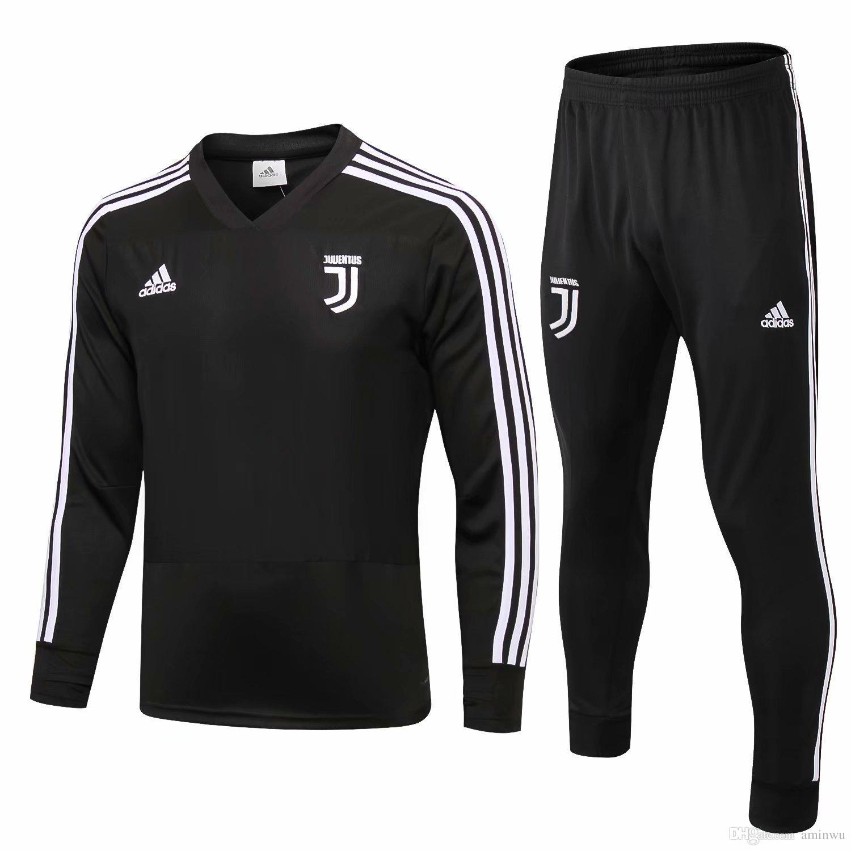 fa9c5d3c8 Top Quality Juventus Soccer Jacket Training Suit 2018-19 RONALDO ...