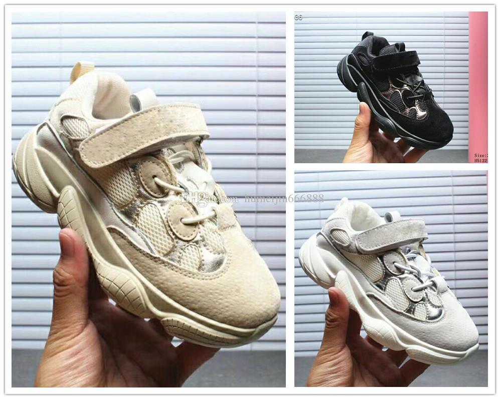 promo code f69fd ae801 Compre Adidas Yeezy Boost 500 Yeezys Envío Gratis Niños Boost 500 V2 Zebra  Negro Triple Blanco Bebé Niños Beluga Zapatos, Niños Niñas Juventud Sply  500 ...