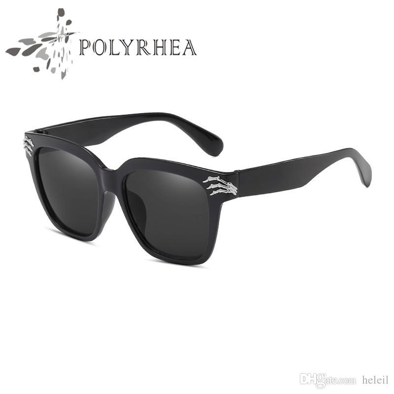 8518e2fb266 New Fashion Square Sunglasses Women Brand Designer Sun Glasses Europe Style  Matte Black Square Flat Top Oversized Sunglasses With Box Super Sunglasses  ...