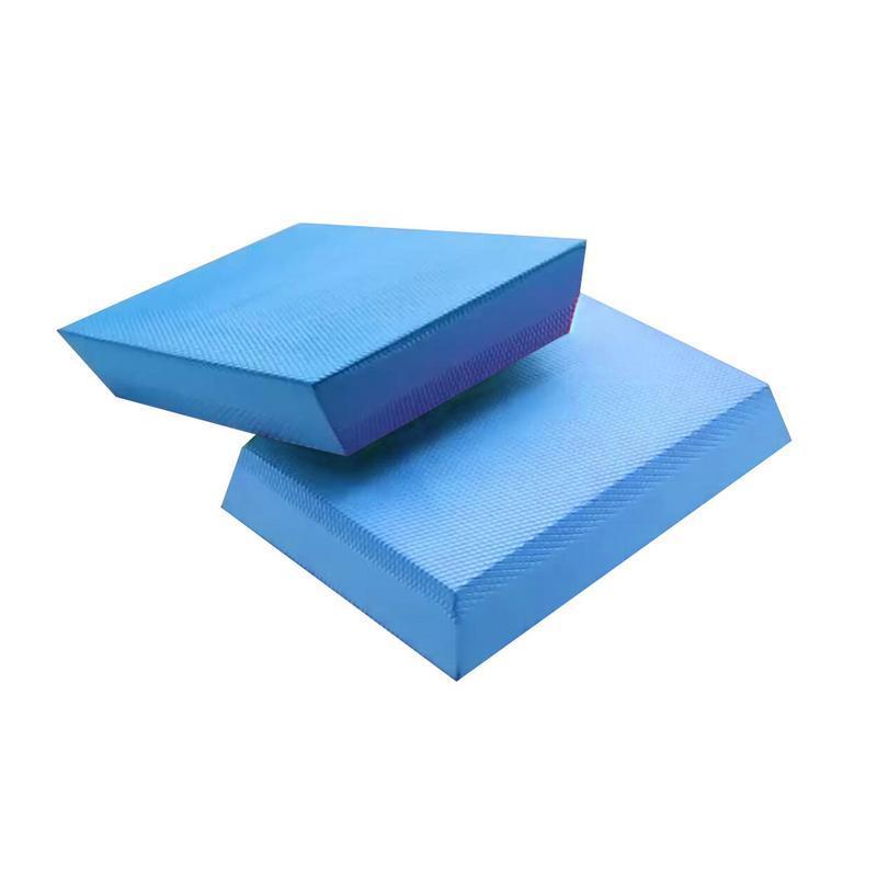 2019 6mm Trapezoidal Yoga Balance Pad Blue Massage Yoga Balance