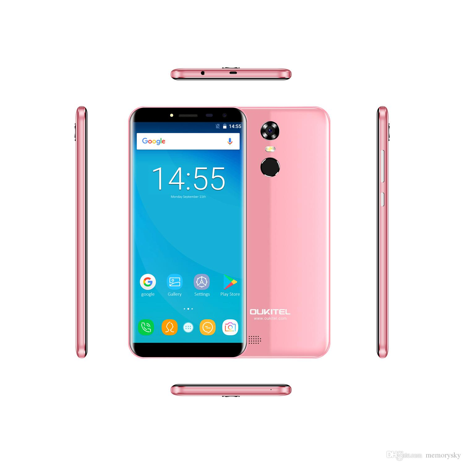 Best Oukitel C8 5 5inches Quadcore 2gb Ram 16gb Rom 4g Android 7 0 1 3ghz Unlocked Cell Phone Android Latest Phones Android Mobile Phones Price From