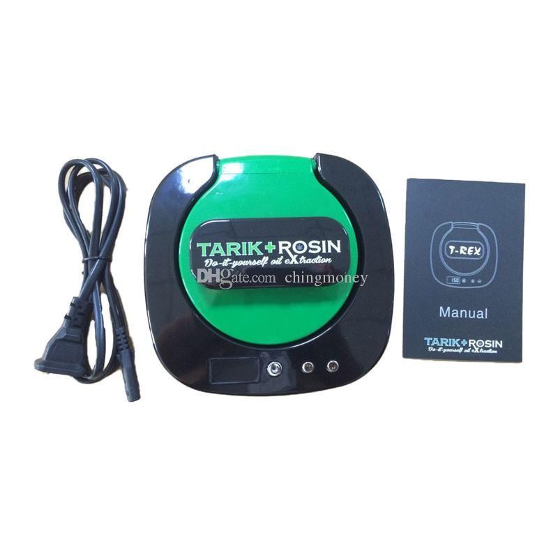 NEW Tarik Rosin Press T-Rex oil wax extraction machine,mini oil Rosin tech Heat Press tool wholesale