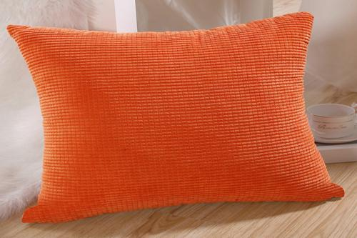 """M MOCHOHOME Wholesale Corduroy Decorative Solid Rectangular Throw Pillow Case Pillowcase Cushion Cover for Sofa Couch Bed - 12"""" x 18"""""""