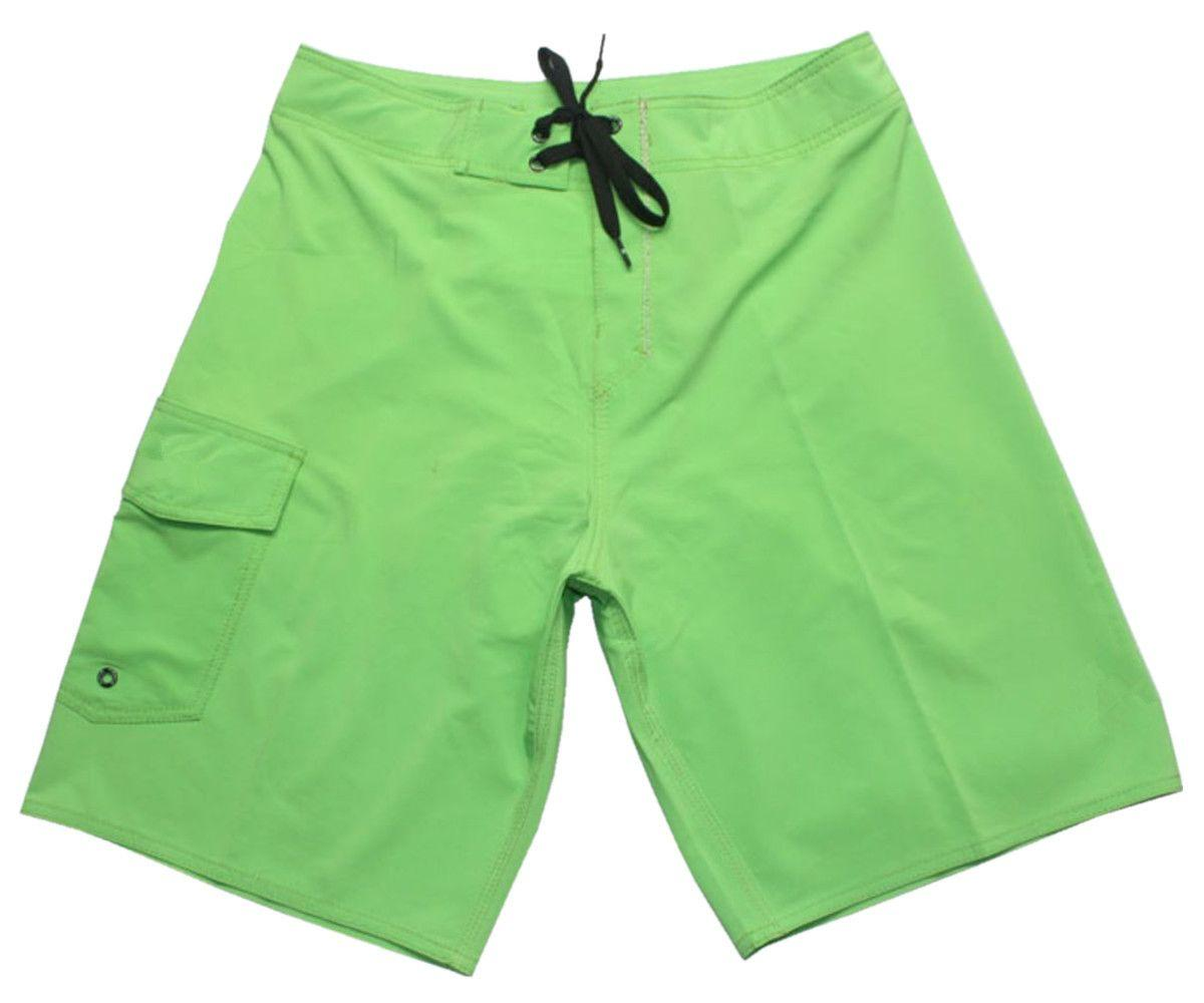2423973a85 2019 4 Way Stretch Solid Swimming Trunks High Quality Mens Leisure Shorts  Quick Dry Surf Pants Loose Swim Trunks Board Shorts Bermudas Shorts NEW  From ...