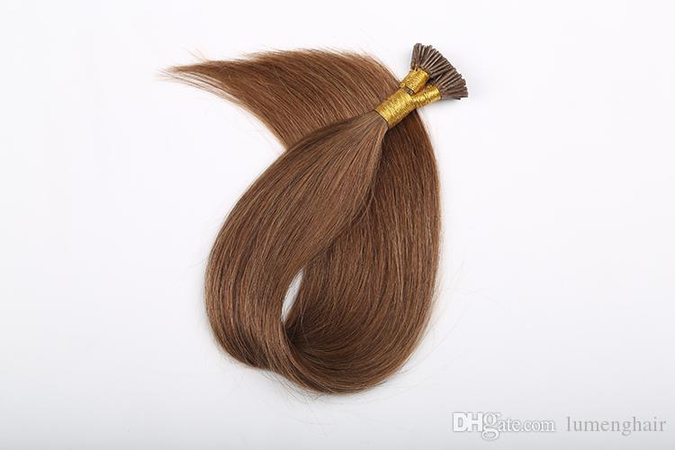 0.8g/s Remy Keratin U Tip Human Hair Extension With Hot Build ...