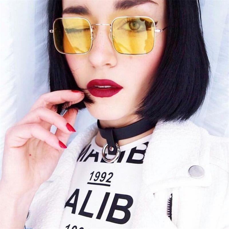 9d5b20430a New Fashion Vintage Sunglasses Women Men Brand Designer Retro Sunglass  Points Sun Glasses Women Female Male Lady Sunglass Square Glasses For Men  Mens ...