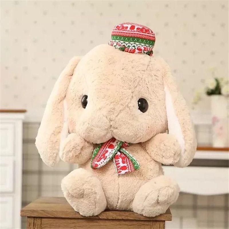2019 Kawaii Cartoon Long Ear Bunny Stuffed Plush Toys Doll Cute Lop