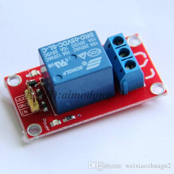 1 Channel Relay Module 5V 9V 12V 24V MCU Development Expansion Board Home Appliance Control rduino Available