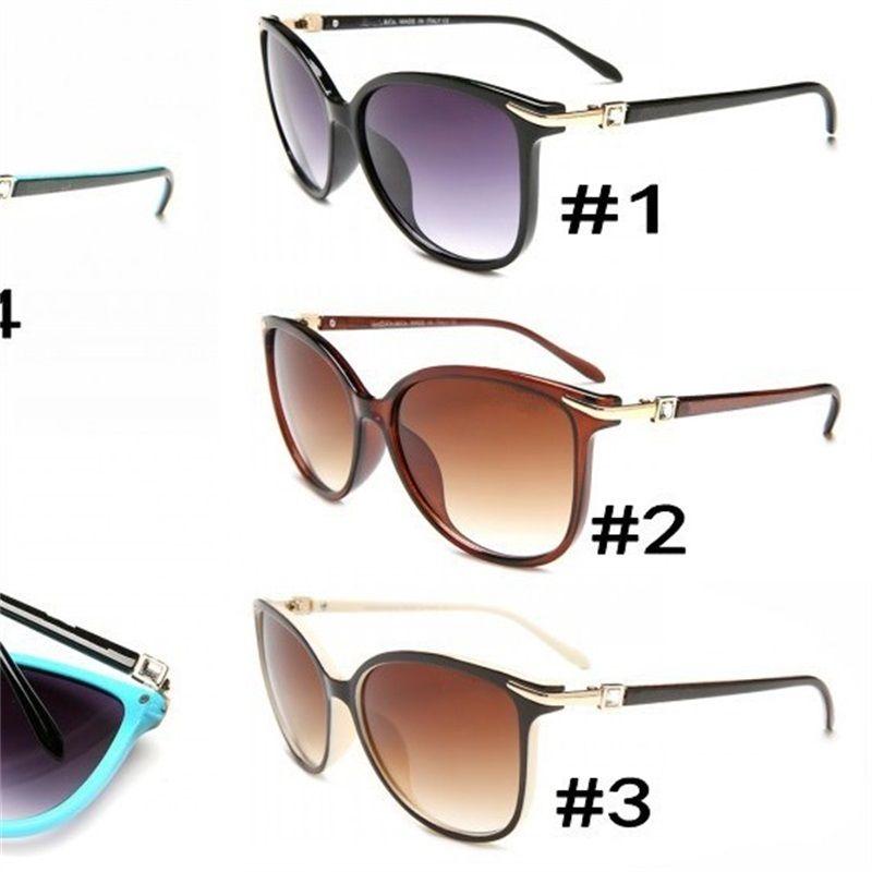 52e437b04c7 Lady Popular Sunglasses Retro Men Brand Designer Shiny Golden Frame Laser  Logo Women Luxury Ultraviolet Proof Glasses 15hy Hh Round Sunglasses Cheap  ...