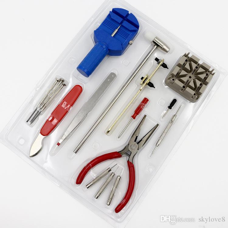 مشاهدة أدوات إصلاح 16 قطعة تنطبق على جميع الأنماط ساعات أثاث المنزل إصلاح الأجهزة شحن مجاني عالمي