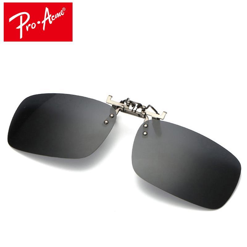 7f24966030 Compre Pro Acme Clip En Gafas De Sol Use Sobre Lentes Graduados Lente  Polarizada UV400 CC0841 A $19.61 Del Duweiha   DHgate.Com