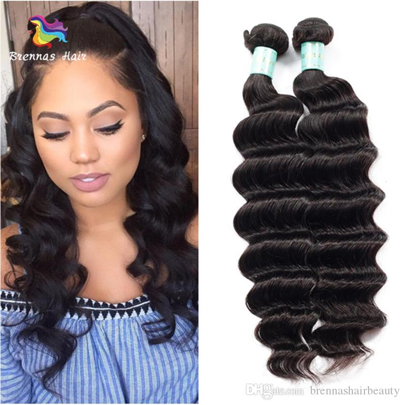 Bulk Malaysian Loose Wave Human Virgin Hair 8a Unprocessed Remy