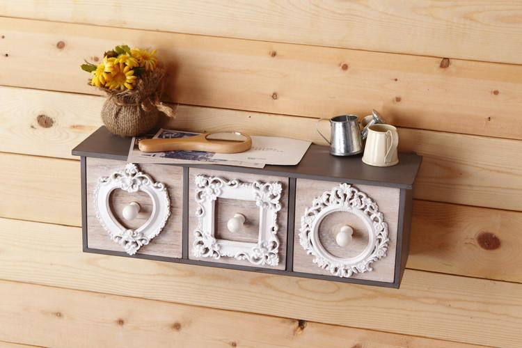 2018 European Style Retro Kitchen Wall Drawer Storage Box Home Furnishing Wall Hanging Decoration Drawer Cabinet Enm 005 From Chenjong $46.92 | Dhgate.Com & 2018 European Style Retro Kitchen Wall Drawer Storage Box Home ...