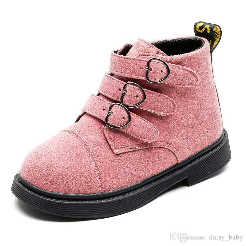 9fa835ff868f3 Acheter Hiver Chaud Martin Bottes Enfants Noir En Cuir Bottine Garçons  Garçons Enfants Chaussures Filles Martin Bottes Chaussures 2018   47 De   14.73 Du ...