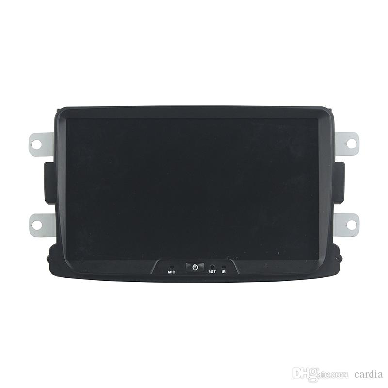 Leitor de DVD Carro para RENAULT Duster 8 polegadas Octa-core 4 GB de RAM Andriod 8.0 com GPS, controle de volante, Bluetooth, rádio
