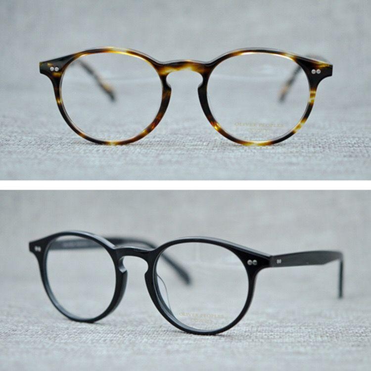 bafc4a027a Compre Gafas De Moda Oliver Retro Montura Gafas De Acetato Vintage Para  Hombres Y Mujeres Gafas De Graus A $32.49 Del Adasstore | Dhgate.Com