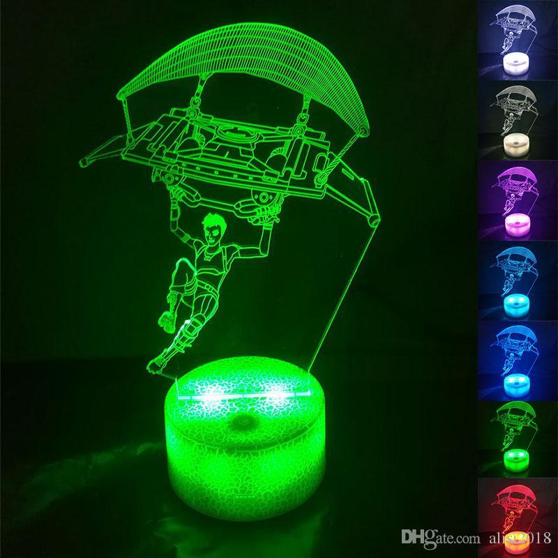 Acheter Chaude Jeu Fortnite 3d Acrylique Led Night Light Touch 7