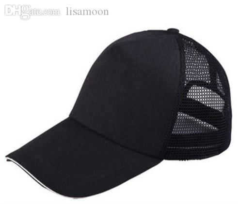 Fashionable Breathable Cotton Lovers Cap Unisex Snapback Cap Men Or Women Baseball Net Caps For Summer Sun Hats Free Shipping Women's Baseball Caps