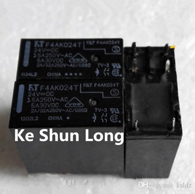fedf42726 2019 FT F4AK024T FTR F4AK024T DIP 6 5A 24VDC 24V DC24V Power Relay ...