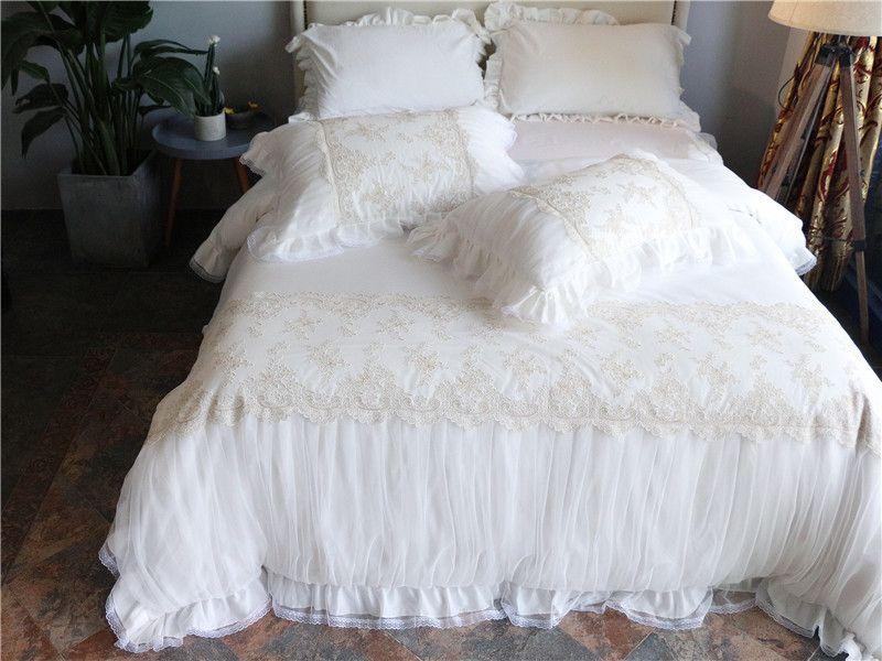 Großhandel Ägypten Baumwolle Weiß Stickerei Luxus Hochzeit ...