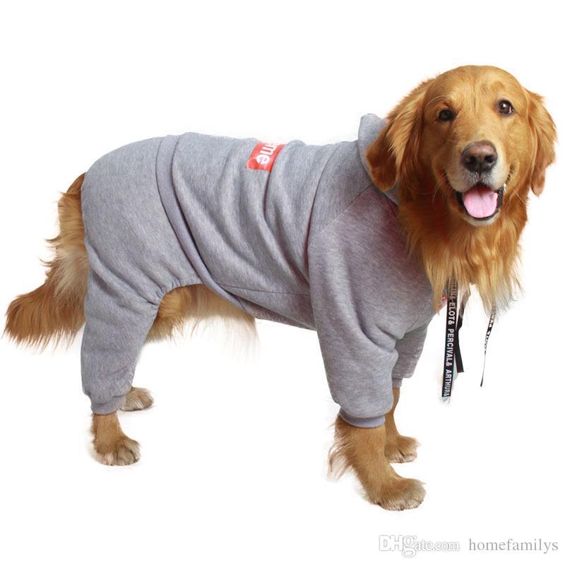 Sup Dog Clothes Tide Brand Labrador Apparel Pet Clothes Big Dog