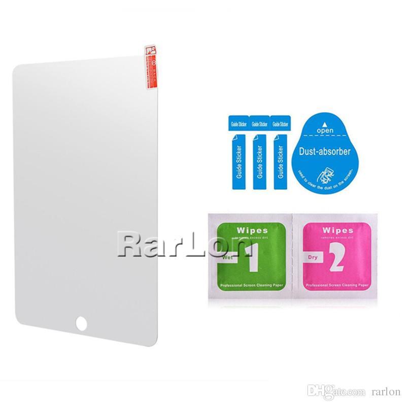 Für iPAD ausgeglichenes Glas-Schirm-Schutz für Ipad 2 3 4 5 6 mini Pro 12.9inch Film-Tablette PC Shatterproof 9H freier Schirm-Schutz