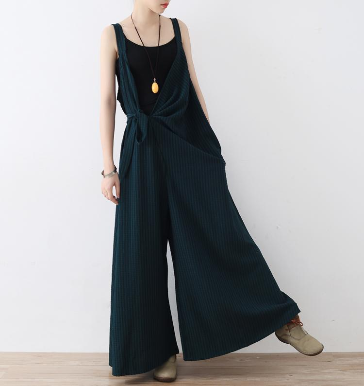 2a8c879902 2019 2018 Women Spring Summer Black Jumpsuit Romper V Neck Casual Playsuit  Overalls Ladies Wide Leg Loose Playsuit Fashion Bodysuit From Qingxin13