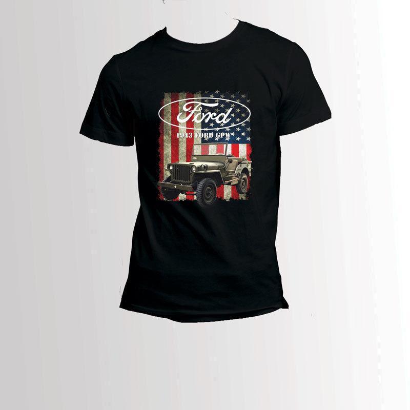 340f7bdf5 Jeep Vintage USA Black T-Shirt Men's Tee 2018 New Tee Print Men T-Shirt Tops  Hip Hop Short T Shirt 100% cotton casual short