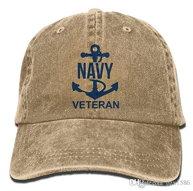 6f875e333 Pzx@ US Navy Veteran Cowboy Hat Vintage Chic Denim Baseball Caps Trucker  Hats Baseball Caps For Women Caps Hats From Pzx1586, $8.9| DHgate.Com