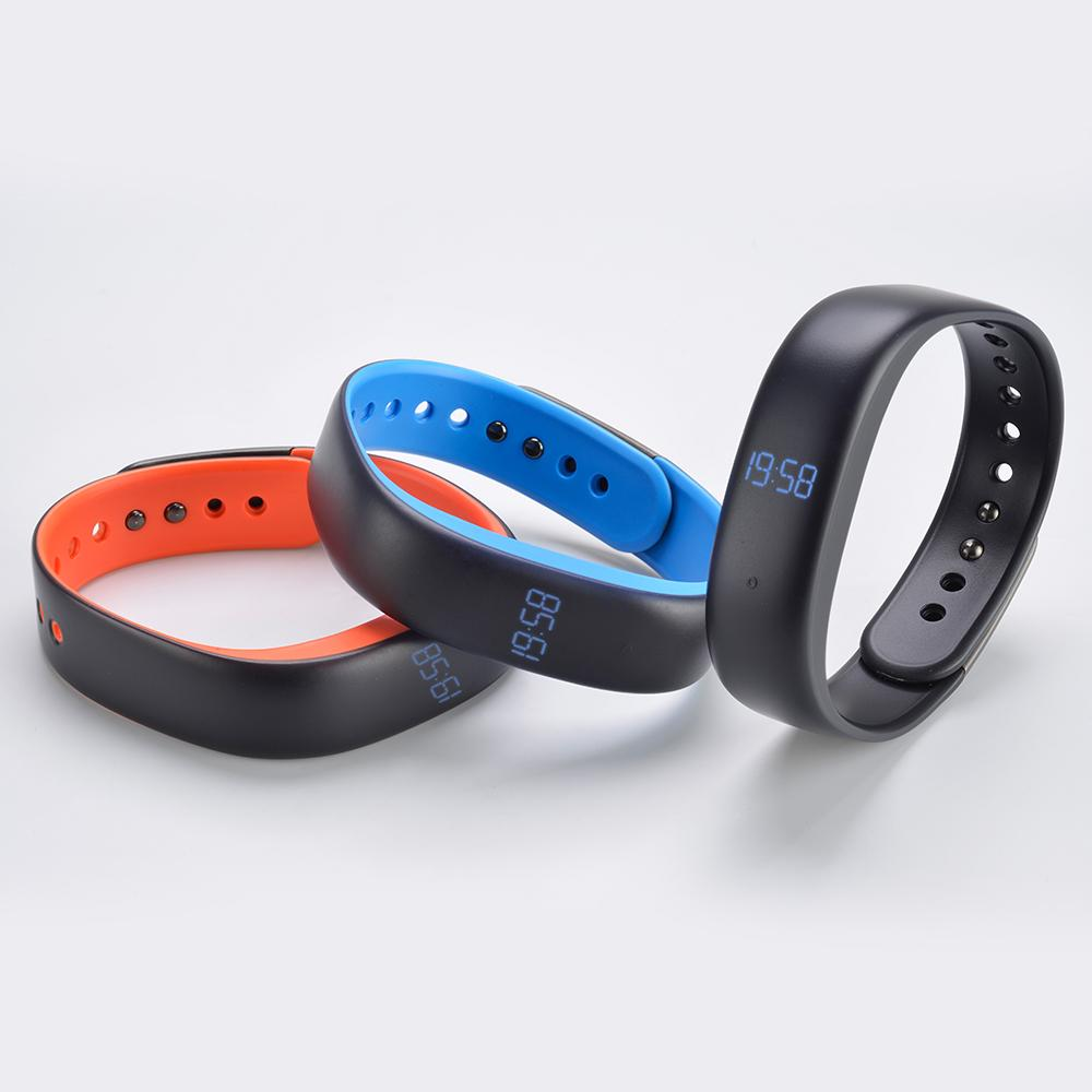 fitband d9 message alert pedometer sleep monitor heart rate monitor call reminder sport smart bracelet wristband health trackers wristband sleep from lucion