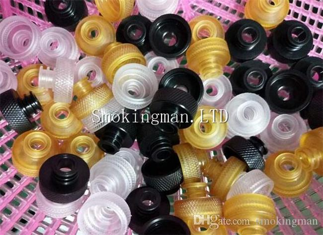 InStock TFV8 Baby 510 to 810 Drip Tip Adapter POM PC PEI Material Fit 510 Atomizers Tank Connecter Adaptor Drip tips TFV8 TF12 DHL Free