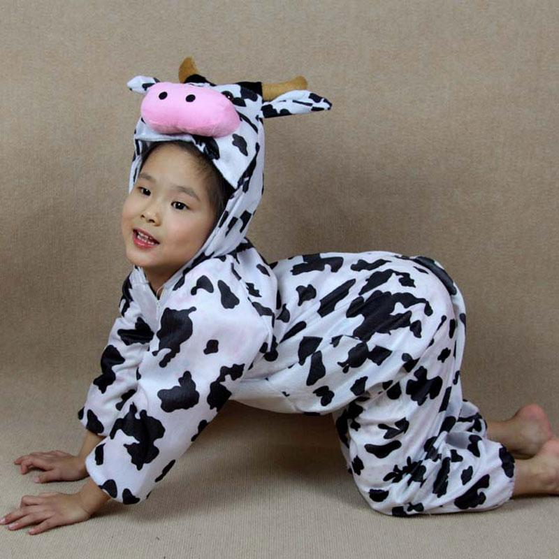 Accessories Cosplay Costumes Children Kids Toddler Cartoon Animal Milk Cow Costume Performance Jumpsuit Childrenu0027S Day Halloween Costume.  sc 1 st  DHgate.com : cow costumes for children  - Germanpascual.Com