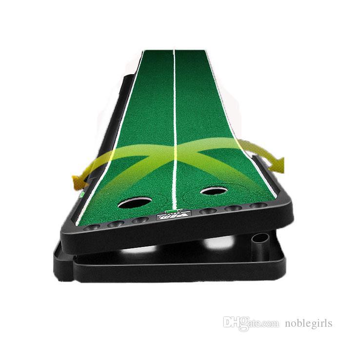 PGM Indoor Golf Putter Trainer Set Golf Practice Putting Mat Golf Green Trainer