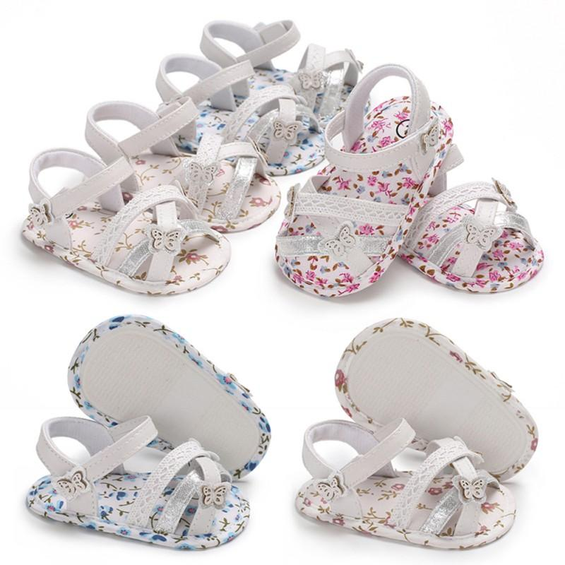 Hot Baby Sandals 2018 Summer New Listing Newborn Girls Casual Cute Fresh  Floral Princess Sandals Baby Shoes 0 18M P Cheap Boys Sneakers Toddler Boys  Shoes ...