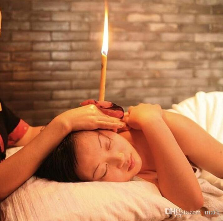 Hot Sale Super Quality Authentic Natural Beewax Ear Candle Indian Ear Candle Ear Care Supply