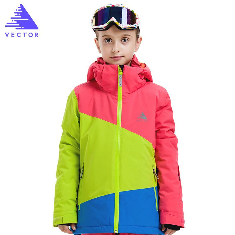 0f1d14ff4a64 Children S Skiing Jacket Winter 20 30 DEGREE Boys Girls Waterproof ...