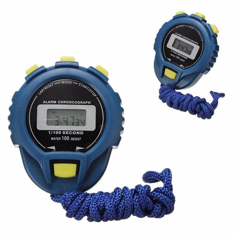 85a8f9add068 Compre Cronómetro LCD Superior Cronómetro Digital Cronómetro Deportivo  Cuentakilómetros Reloj Alarma 18 De Octubre A  20.9 Del Haroln