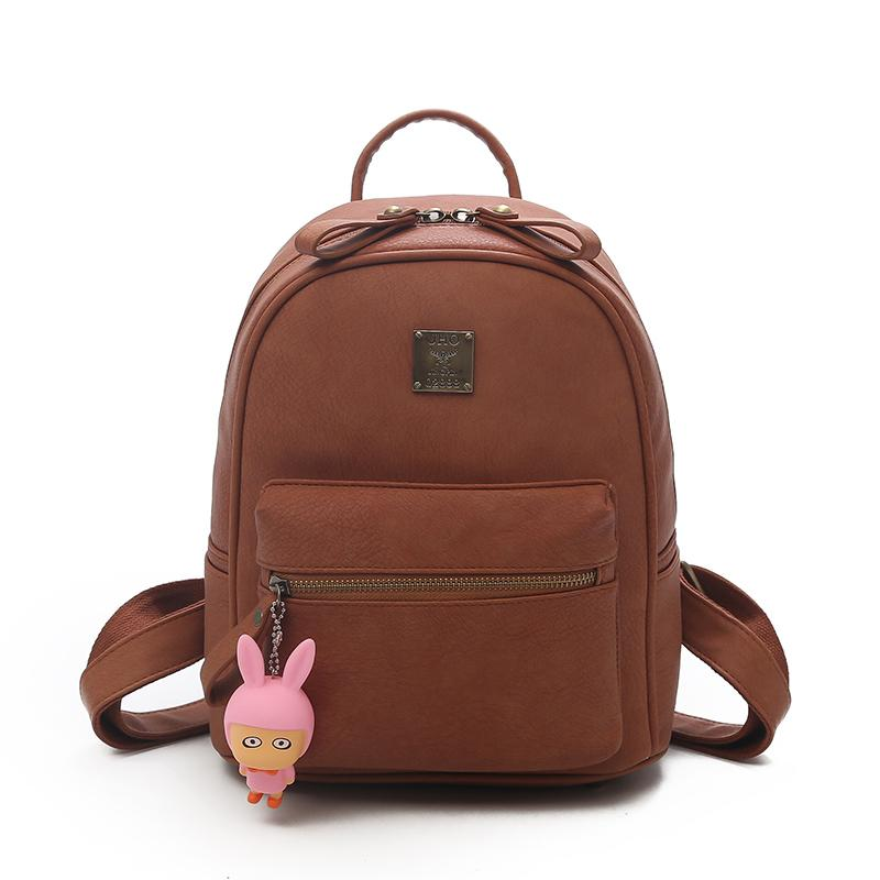 Joypessie Fashion PU Leather Women Backpack Top Quality Vintage Lady  Backpack For Girls Cute School Bag Shoulder Bag Messenger Bags Leather  Backpack From ... e8f65a8248180