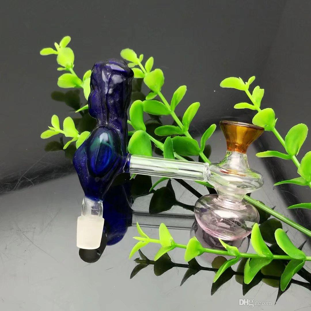 Beauty filtering pot Wholesale bongs Oil Burner Glass Pipes Water Pipes Glass Pipe Oil Rigs Smoking ,