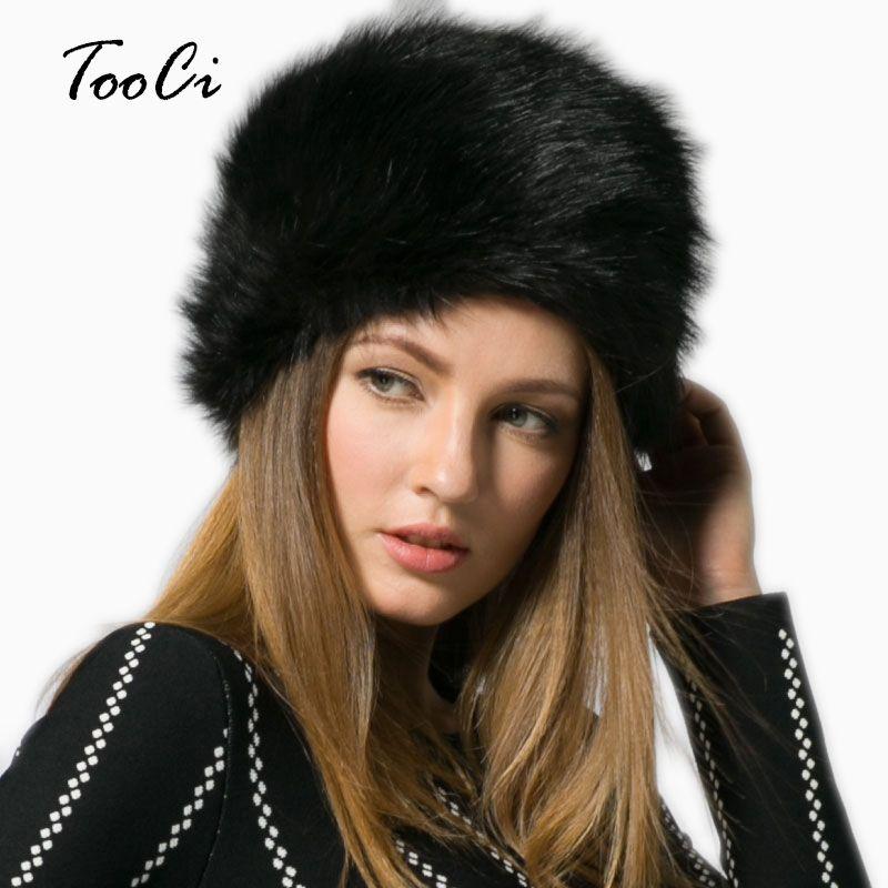 b59ffd5d2e4 Winter Fashion Women S Hats Lady Fluff Cap Soft Warm Faux Fur Beanies Ear  Protect Cute Casual Hat Headgear Headdress Fitted Hats Straw Hats From  Juaner