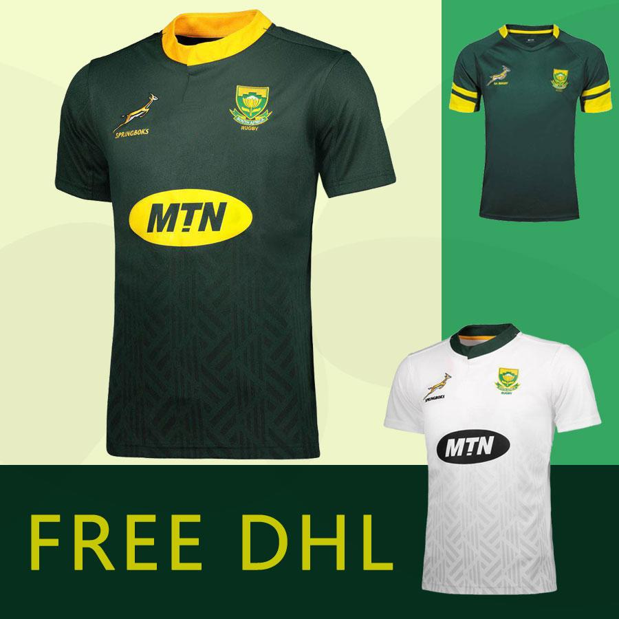 db6397add 2019 New 2018 2019 South Africa Rugby Jerseys 2017 South Africa National  Team Home World Cup Rugby Shirts High Quality Fast Shipping Size S 3XL From  ...