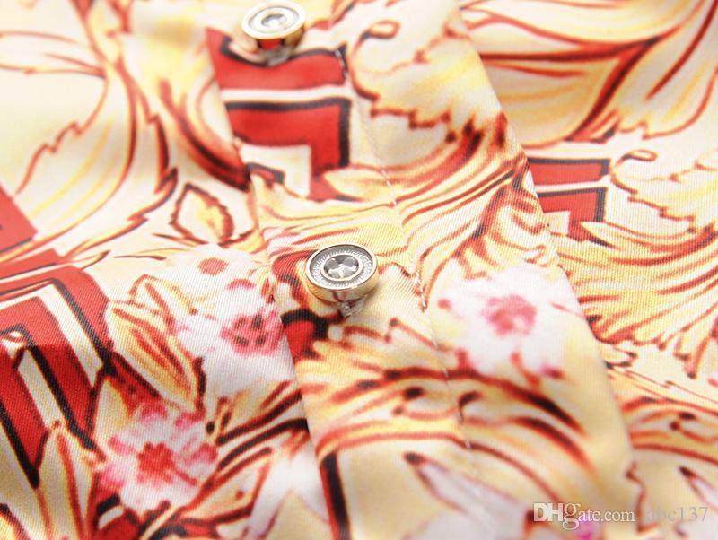 XIMIWUA Men's Europe y los Estados Unidos la calidad de cabeza de impresión de alta calidad del mundo es cabeza muy perfecta. Medusa label Asia size