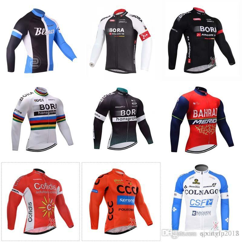 eab172555 6 Different Models Of Ciclismo New Men Cycling Jersey Long Sleeves Mountain Bike  Clothing Spring Autumn Quick Dry Racing Bicycle Sportswear Cheap Cycling ...