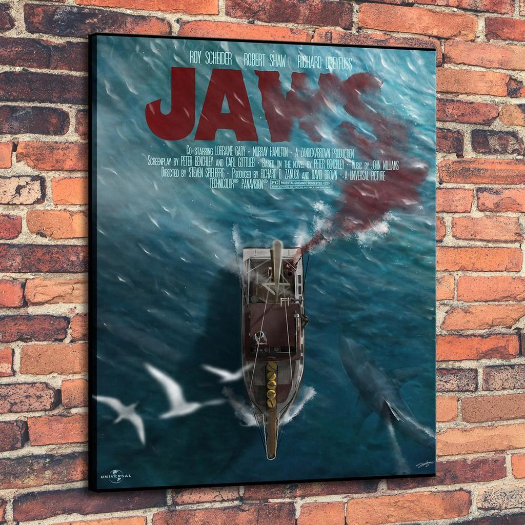 High Quality HD Canvas Print Wall Art oil painting Jaws Variant Home Decor  On Canvas Multi Sizes pa06
