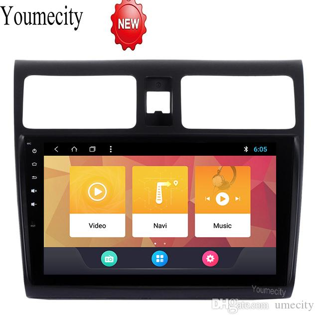 Android 8 1 Car DVD for Suzuki SWIFT 2008-2015 Years 3G/4G GPS radio video  Multimedia player Capacitive IPS Screen