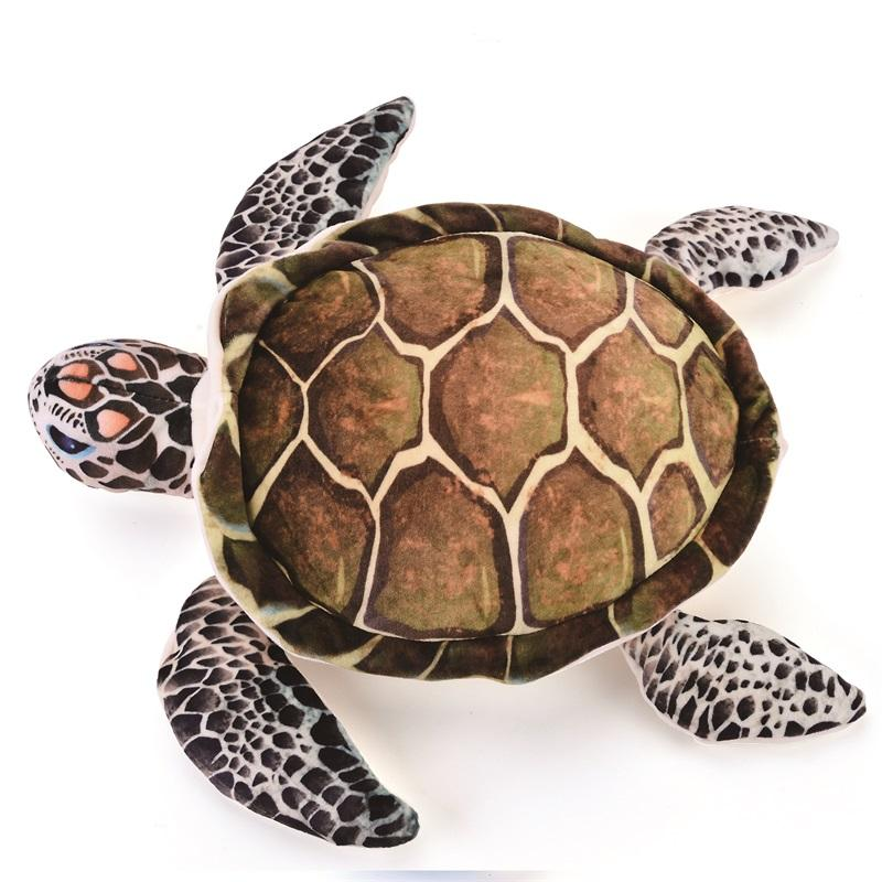 2019 Cute Pillow Plush Ocean Sea Turtle Toys Soft Cute Pillow Super
