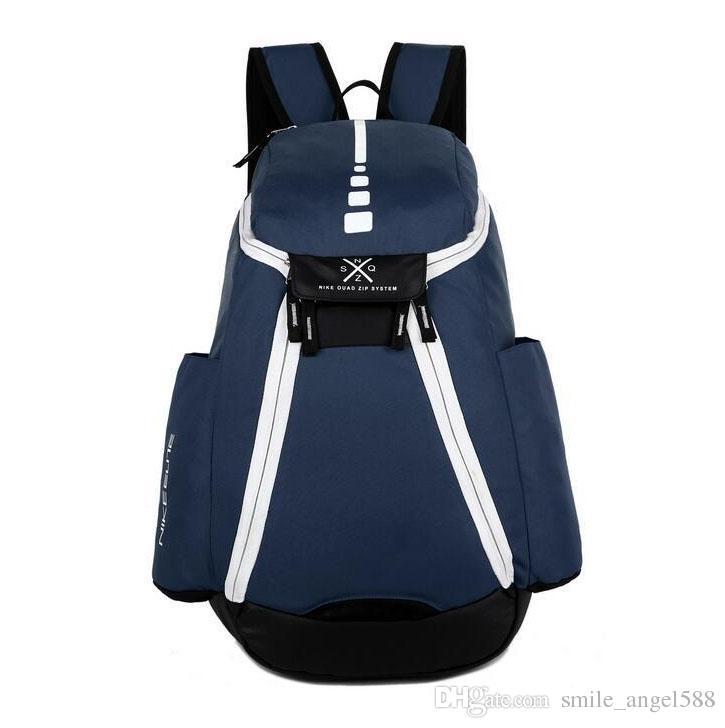 Top Quality 2017 New Fashion Zaino Rosso Blu Nero Camouflage Sport all'aria aperta pacchi Basket da viaggio Borse da viaggio