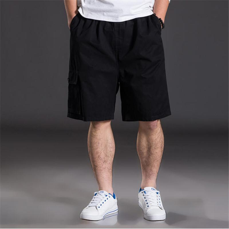 b419d28ce5517 2019 New Summer Men Cotton Shorts Plus Size XL 6XL Shorts Male Multi  Pockets Loose Leisure Daily Home Shorts High Quality A594 S917 From  Ruiqi03