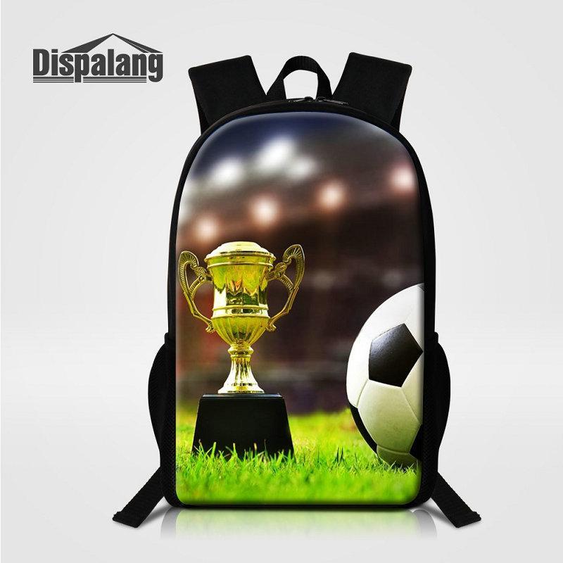 Cool Football Printed Boys School Bag Rucksack Soccer Designer ... cb0e16022b505